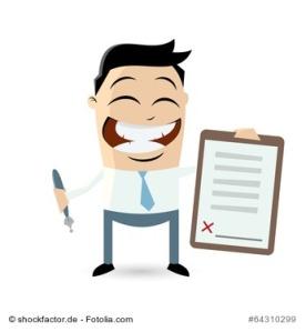 vertrag business unterschrift mann